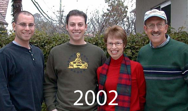 Leuten Family Pictures over the years 2002 to 2015